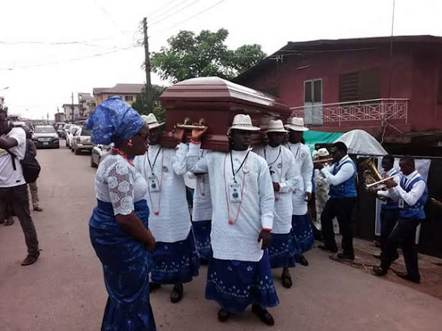 Photos from Henritta Kosoko's Burial Ceremony