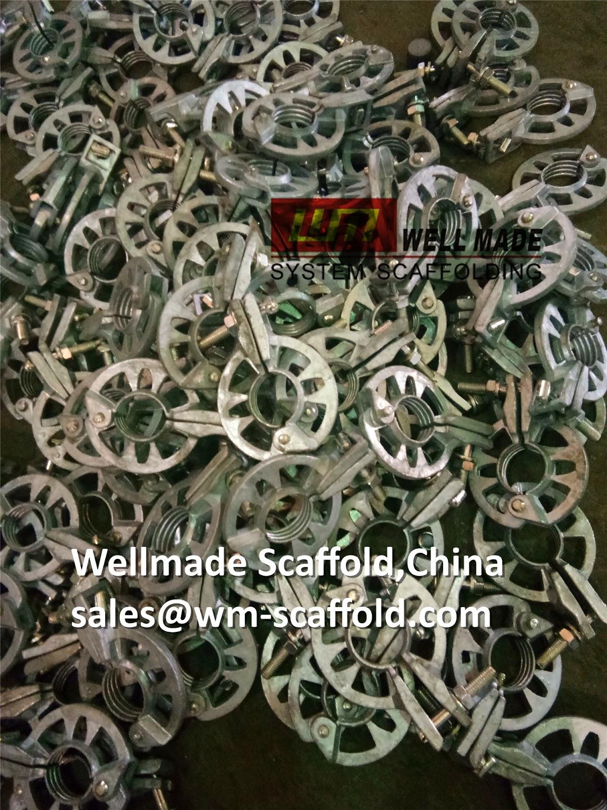 Ring Lock Scaffolding Rosette Clamp Hot Dip Galvanized