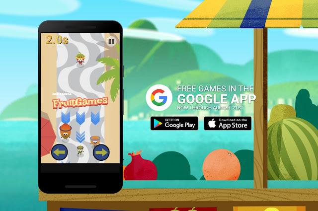 google doodle fruit games download
