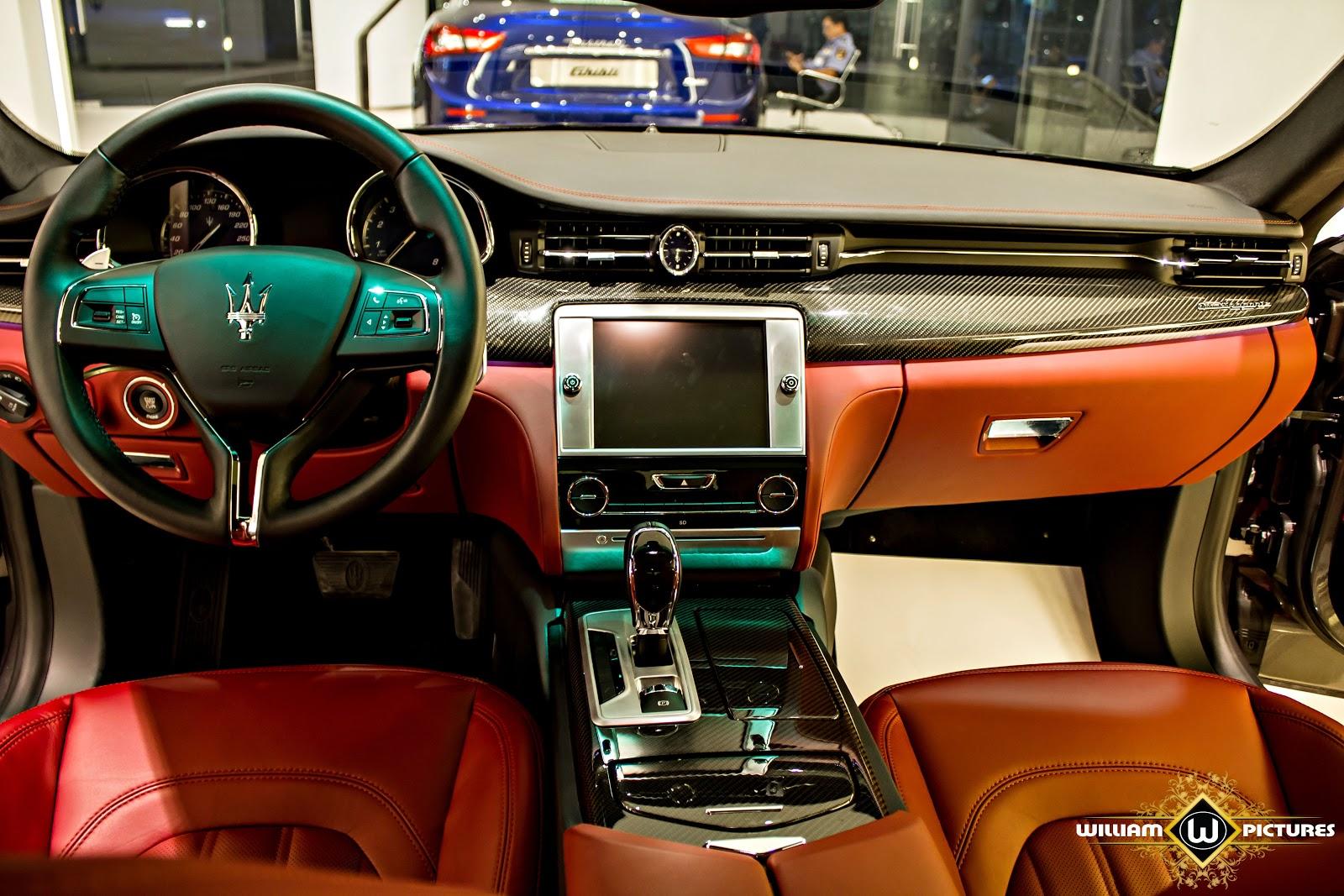 Từng đường nét của Maserati Quattroporte phải nói quá tuyệt, nét nào ra nét đó, chắc chắn, đơn giản