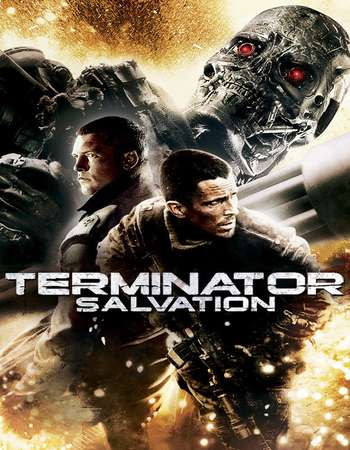 Poster Of Terminator Salvation 2009 Dual Audio 350MB BRRip 720p ESubs HEVC Free Download Watch Online Worldfree4u