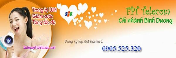 Lắp đặt internet fpt phường Thái Hòa