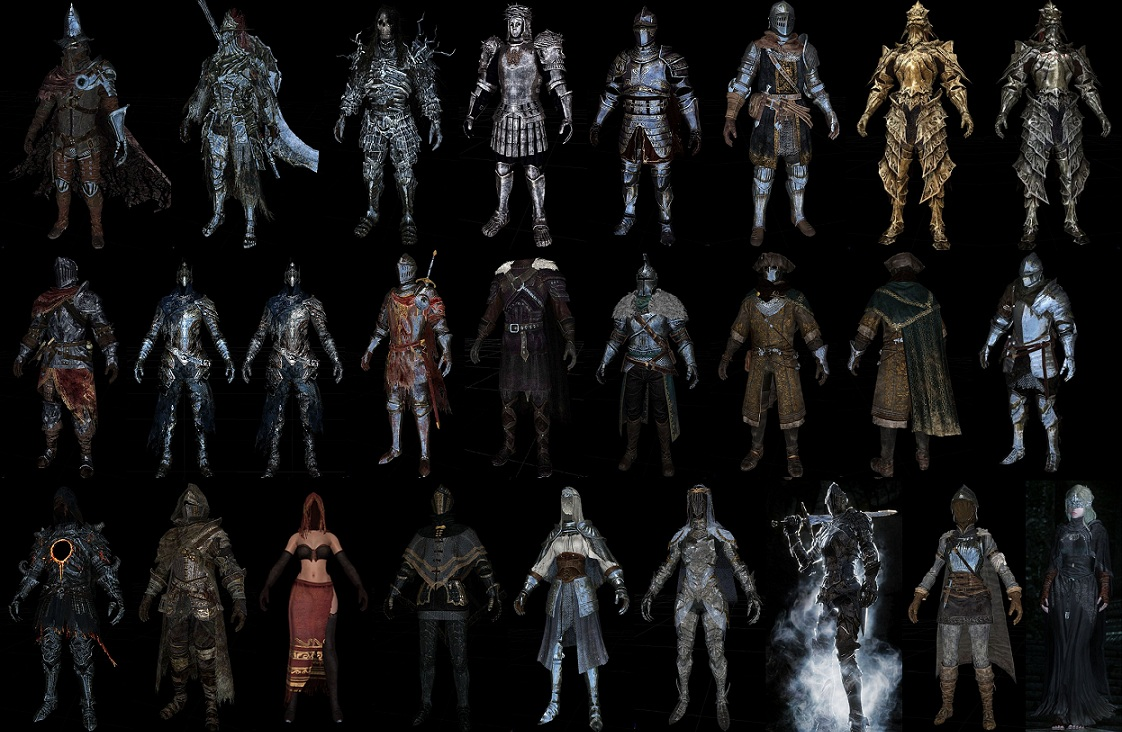Dark Souls Pack by TeamTAL [HDT Cloth] ~ Eskyrim