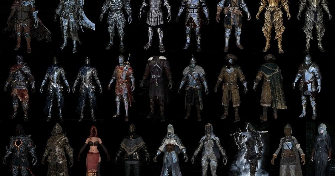Dark Souls Pack By TeamTAL HDT Cloth ESkyrim