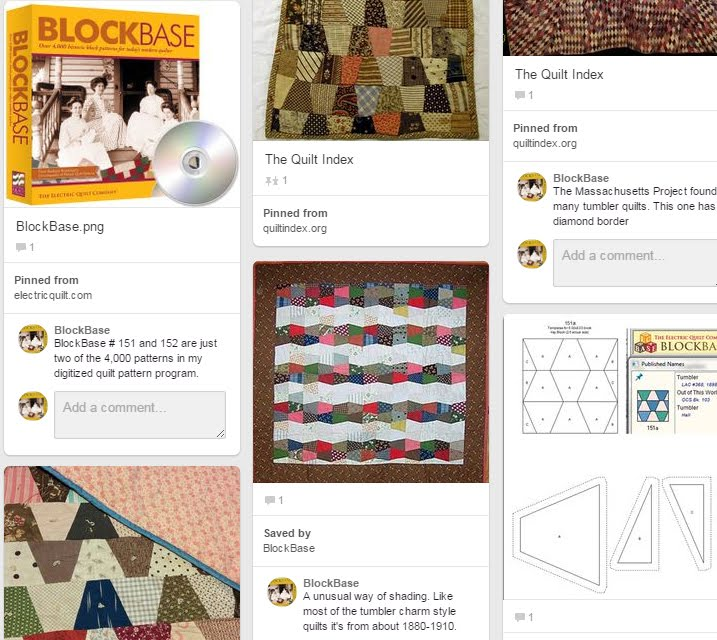 Pinterest Pages on BlockBase Patterns