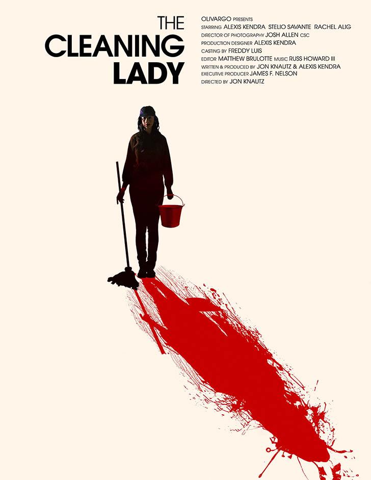 Resultado de imagem para The Cleaning Lady Jon Knautz poster