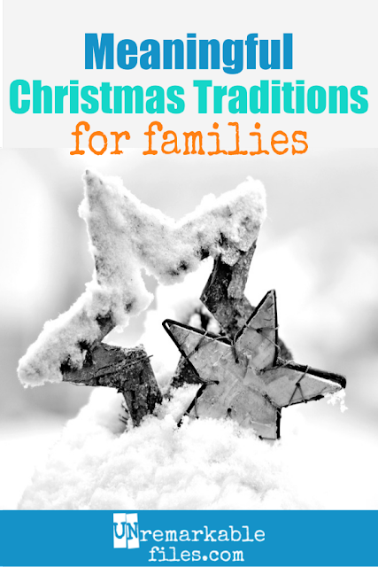 If you are trying to celebrate a Christ centered Christmas this year with your family, start by overhauling your holiday traditions. These unique Christian ideas for religious traditions to start with kids at Christmastime will help you and your children remember the reason for the season. #christcentered #christmastraditions #familytraditions #christian #religious