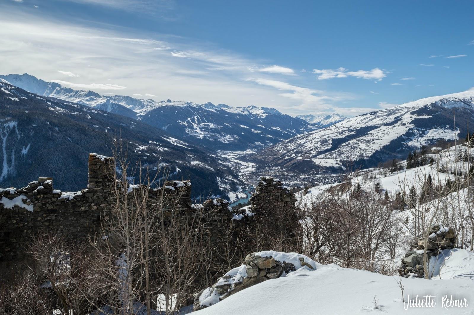 Randonnée à Séez - Savoie