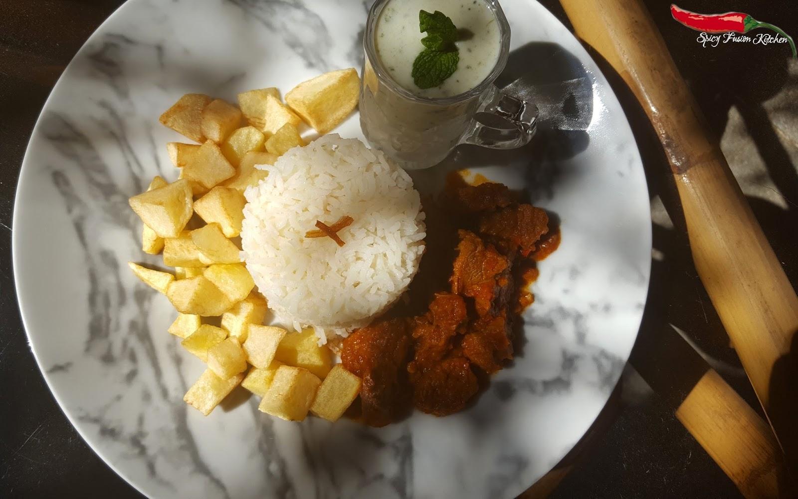 Steak Rice Recipe (Friday Lunch)