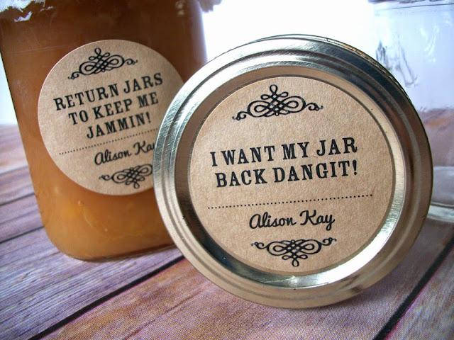 return jar labels