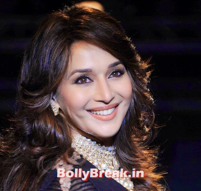Madhuri Dixit, Bollywood Eye makeup - Pictures of Actresses Eyes - Tips, Eye Color
