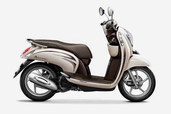 Honda Scoopy FI Stylish Chic Cream
