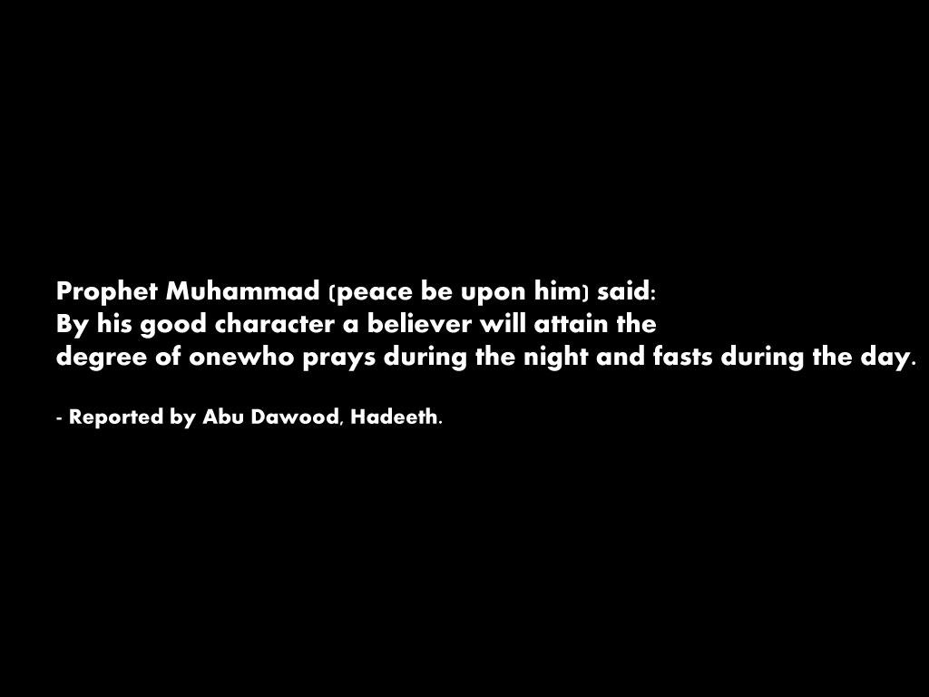 Prophet muhammed pbuh