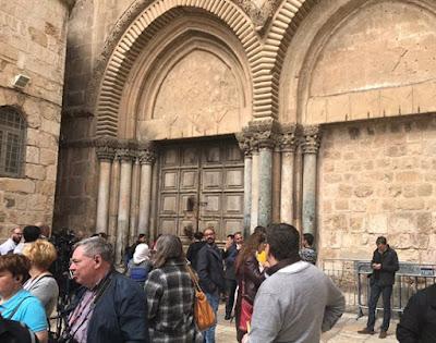 إغلاق كنيسة القيامة بعد فرض إسرائيل 190 مليون دولار ضرائب