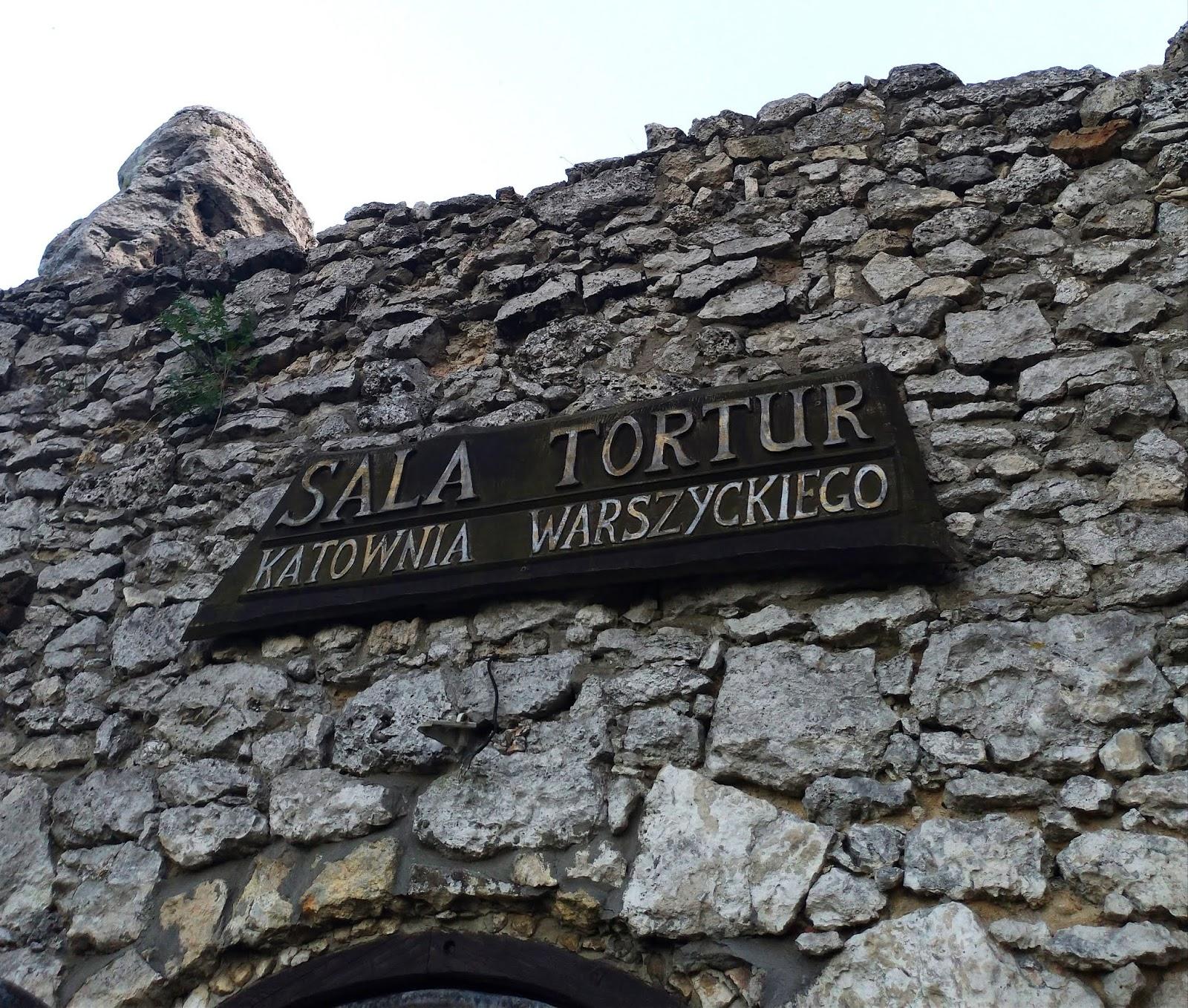 sala tortur w zamku w Ogrodzieńcu