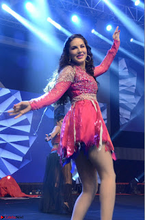 Sunny Leone Dancing on stage At Rogue Movie Audio Music Launch ~  061.JPG