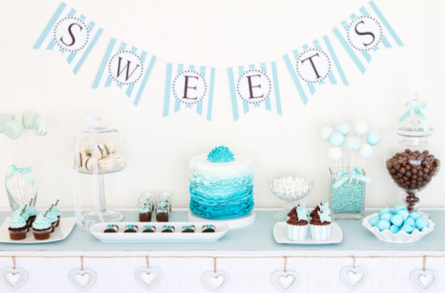 baby shower ideas and shops dessert table