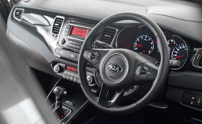 Interior Dashboard Kia Carens Indonesia