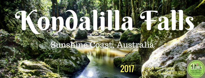 KONDALILLA FALLS, SUNSHINE COAST. AUSTRALIA