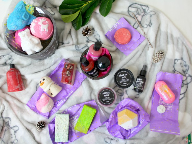 Massive LUSH haul - Christmas presents, sales picks and little treats!