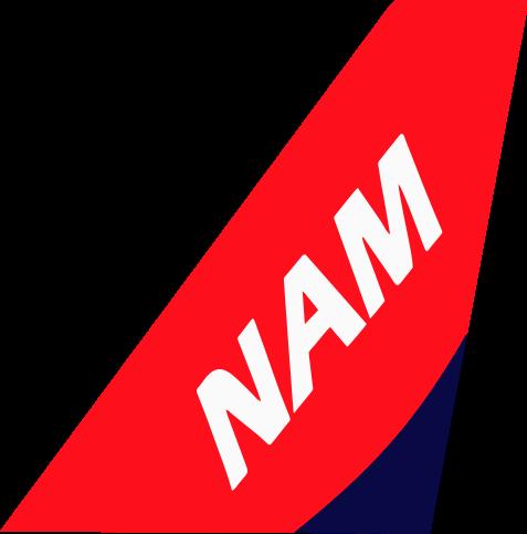 carrier logo vector. pada awal mulanya, nam air diproyeksikan sebagai full service carrier dari sriwijaya yang ditujukan untuk menyaingi garuda indonesia dan batik air. logo vector