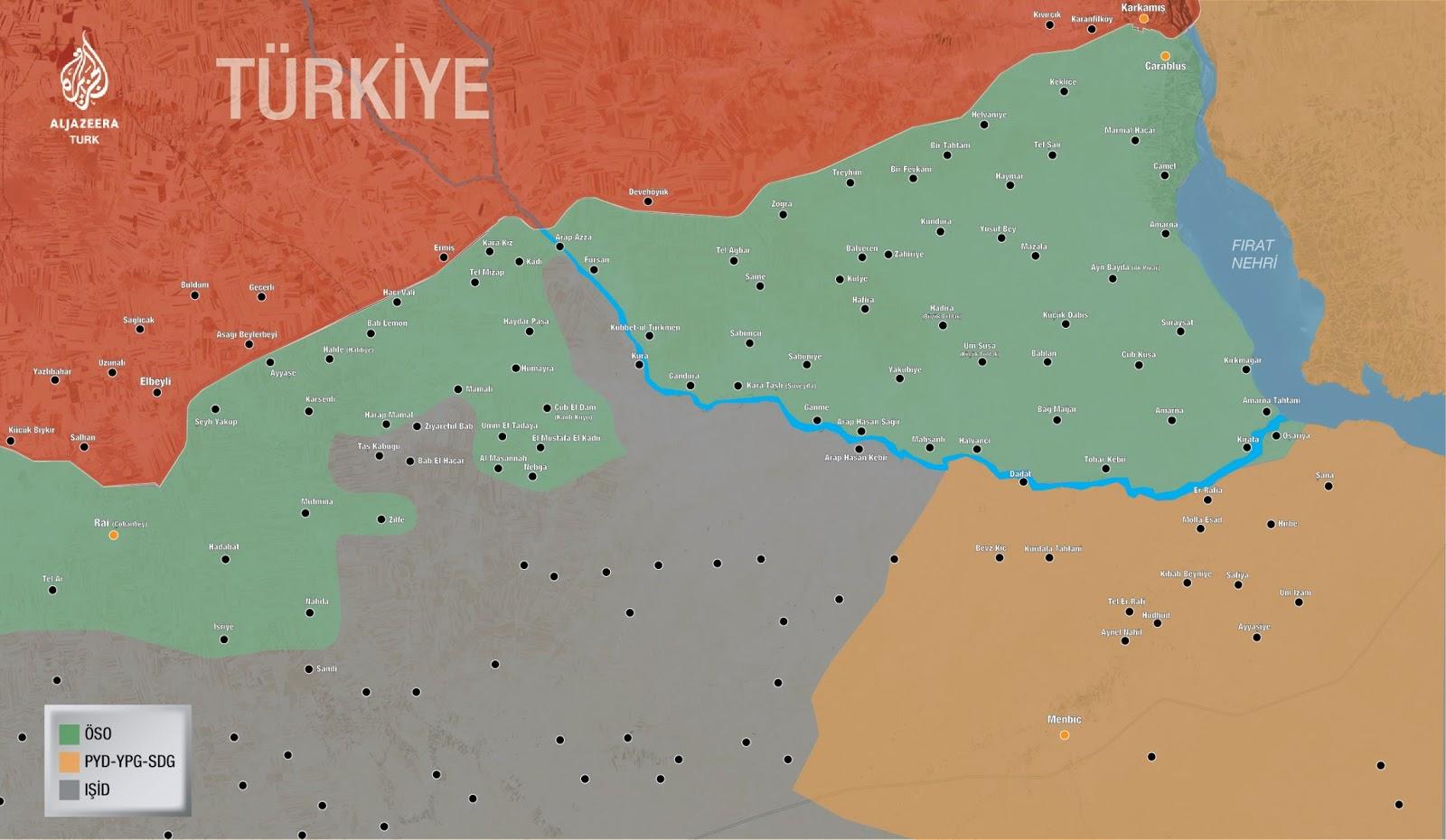 Türk Silahlı Kuvvetleri - Fırat Kalkanı Harekatı