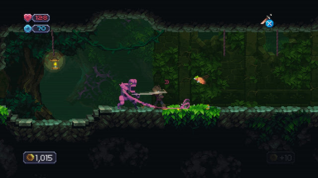 Chasm - enemies in the jungle hit hard, so boost your defense stats!