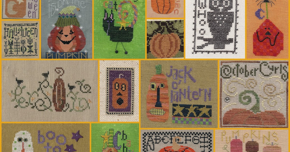 Garden Grumbles And Cross Stitch Fumbles Pumpkins And An Owl