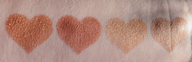 Pixi by Petra Mixed Metals Palette Swatches