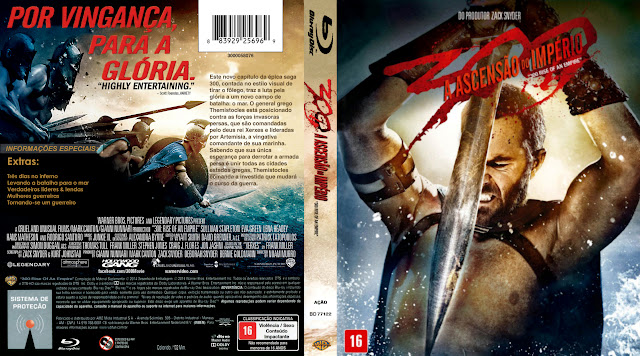 Capa Blu-ray 300 A Ascensão do Império
