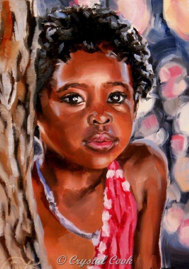 Небольшие картины акварелью. Crystal Cook