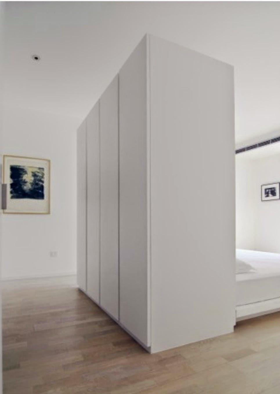 Mi rinc n de sue os almacenaje detr s de la cama - Aislar pared ruido sin obras ...
