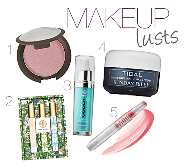 Makeup Monday: Spring Beauty Lusts
