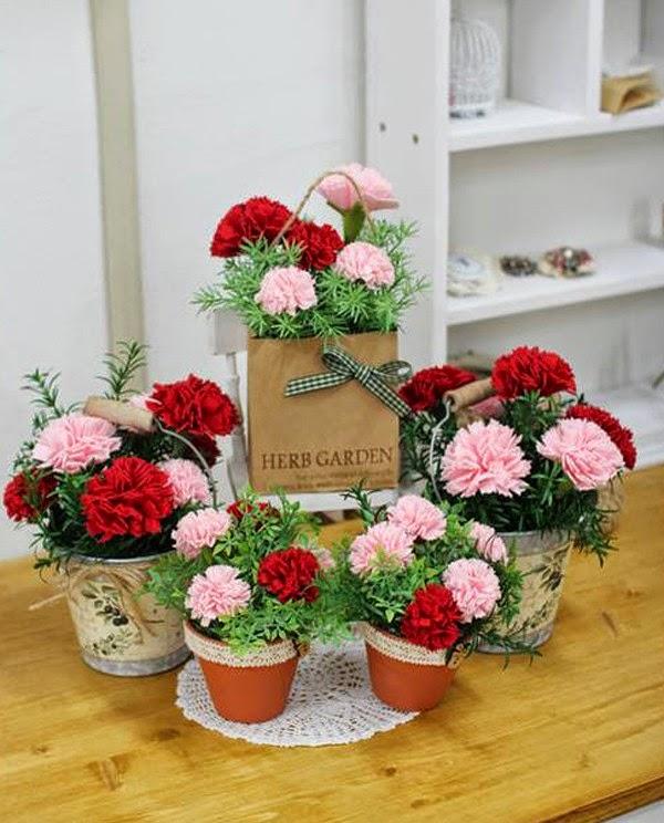 Haz Arreglos Florales Con Claveles De Tela Solountipcom