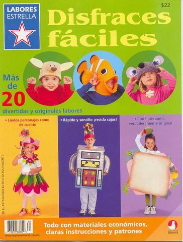 Revista Disfarces fáceis -Fantasias Para Crianças