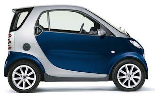 mali gradski automobil Smart