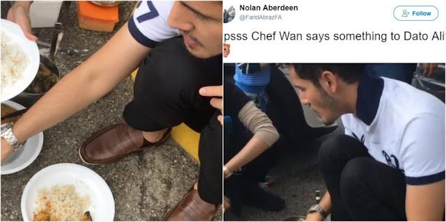 Kena Halau Di Restoren Chef Wan Tegur Aliff Shukri Yang Tak Cerdik
