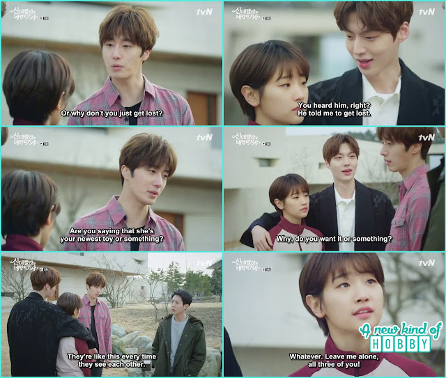 another fight of hyun min and ji woon - Cinderella and 4 Knights - Episode 3 Review