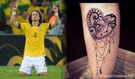 David Luiz rechaza los tatuajes