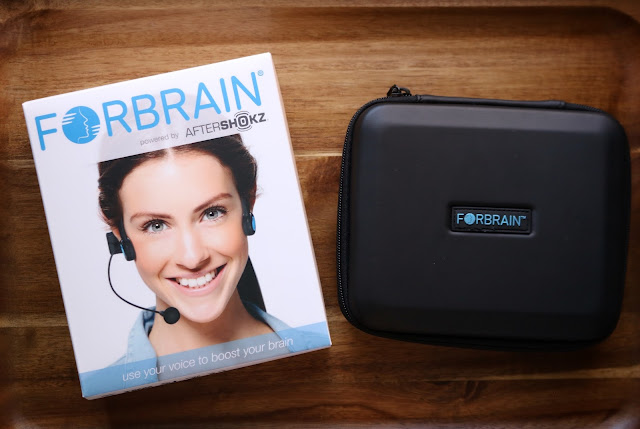Auditory Feedback Headset for Speech, Language, and Attention - Forbrain