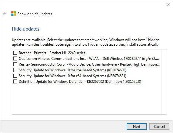 bloquear actualizaciones en Windows 10
