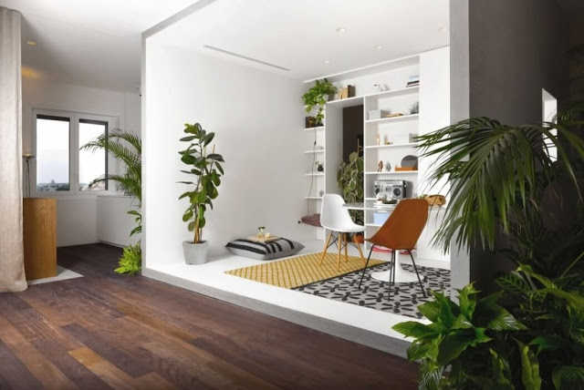 Tampilan Interior Yang Fresh Modern Minimalis