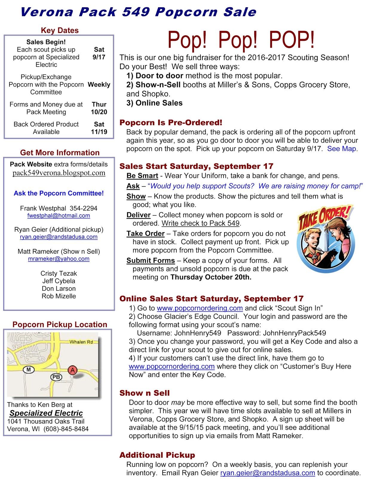 Cub Scout Pack 549 Verona Wi September