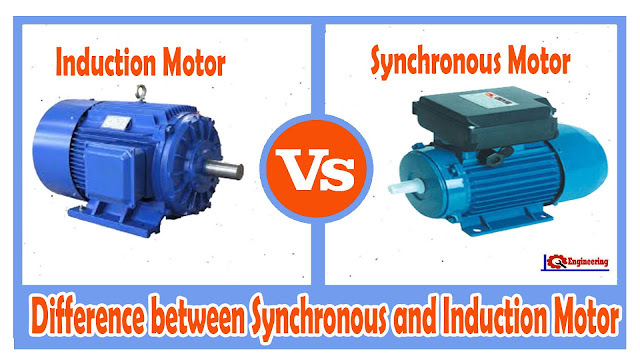 Induction Motor Vs Synchronous Difference Between And