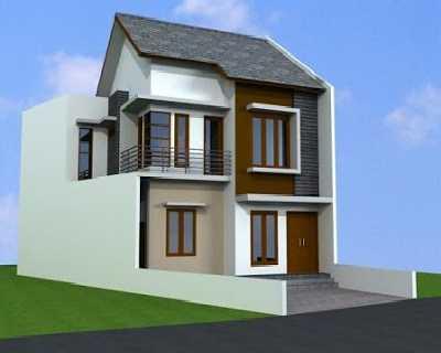 rumah minimalis modern: 8 desain rumah minimalis 2 lantai