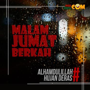 DP BBM Pantun Hujan Malam Jumat
