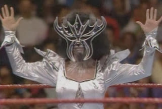 WWF / WWE - SUMMERSLAM 1990: Sensational Queen Sherri dressed up like some kind of cat. Nobody knew why.