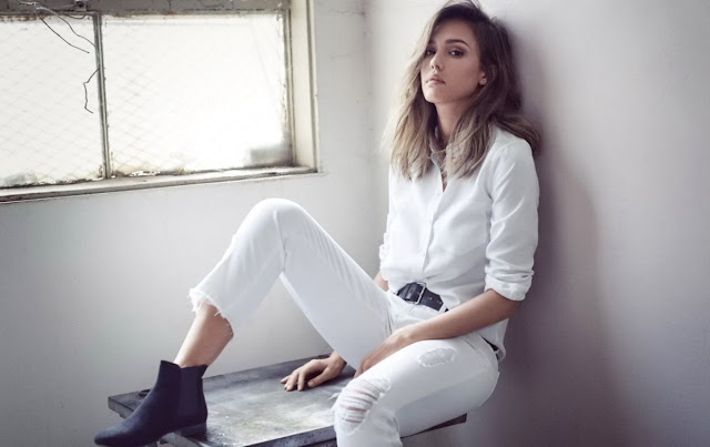 Jessica Alba DL1961 Fall 2016 Collection PhotoShoot