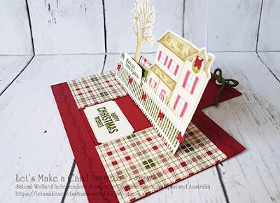 Online Class Oct. 2018 Farm House Christmas Pop Up Slider card Satomi Wellard-Independent Stampin'Up! Demonstrator in Japan and Australia, #su, #stampinup, #cardmaking, #papercrafting, #rubberstamping #papercrafting, #handmadegreetingcard, #2018holidaycatalog #christmascard #farmhousechristmas #fancyfoldsbloghop  #スタンピンアップ #スタンピンアップ公認デモンストレーター #ウェラード里美 #手作りカード #スタンプ #カードメーキング #ペーパークラフト #スクラップブッキング #オンラインクラス #スタンピンアップオンラインオーダー #スタンピンアップオンラインショップ  #フェイスブックライブワークショップ #2018ホリデーカタログ #クリスマスカード # ファームハウスクリスマス