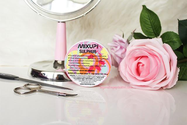 Mixup Sulphur-El ayak bakım yağı